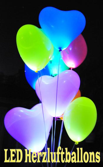 ballon lichter leuchtende led beleuchter f r luftballons. Black Bedroom Furniture Sets. Home Design Ideas